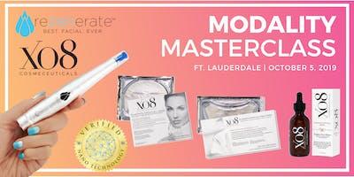 Rezenerate + XO8 Cosmeceuticals: Modality Master Class