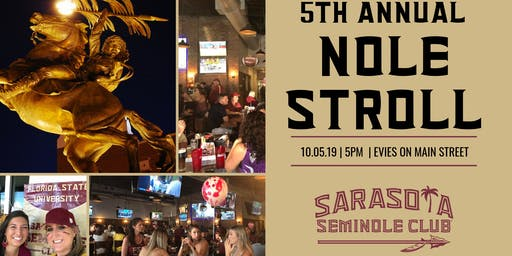 5th Annual SRQ Nole Stroll