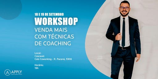 WORKSHOP VENDA MAIS COM TÉCNICAS DE COACHING