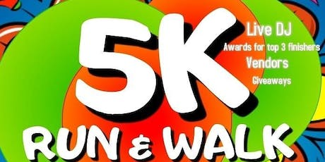 4th Annual 5K Run & Walk For Cancer tickets