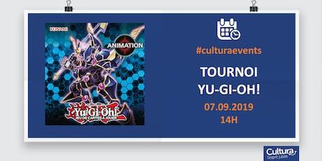 Tournoi mensuel Yu-Gi-Oh! billets