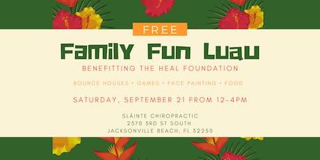 Free Family Fun Luau tickets