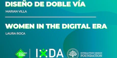 Diseño de doble vía & Women in the era digital entradas