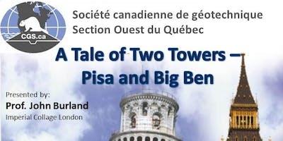 Soirée géotechnique : A Tale of Two Towers – Pisa and Big Ben
