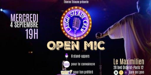 Laugh Steady Crew- Open Mic