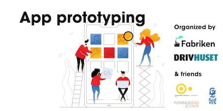 App prototyping (Södertörn högskola) tickets