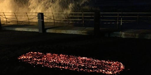Firewalking in Jersey