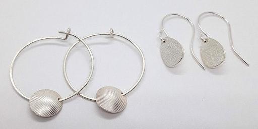 Silver Drop Earring Making Class