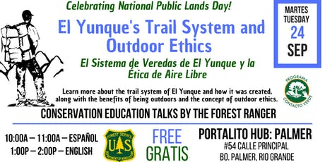 El Yunque's Trail System and Outdoor Ethics tickets