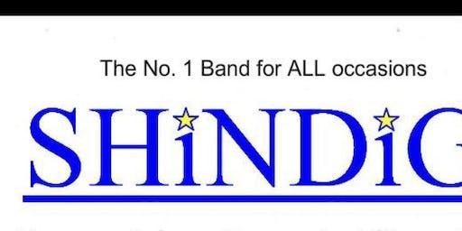 Shindig Band in the Lounge Bar