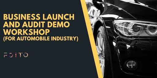 Demo Workshop on Business Launching and Auditing ( For Automobile Industry)