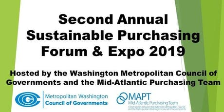 Second Annual Sustainable Purchasing Forum & Expo 2019 tickets
