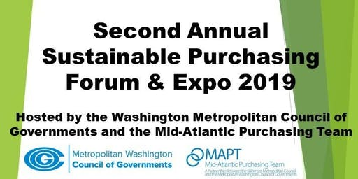 Second Annual Sustainable Purchasing Forum & Expo 2019