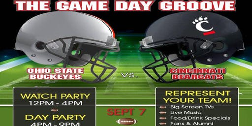 The Game Day Groove (UC vs. OSU Watch & Day Party)