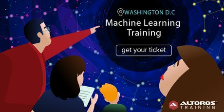 [TRAINING] Machine Learning in 3 days: Washington D.C. tickets