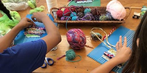 Tapestry Weaving for Kids