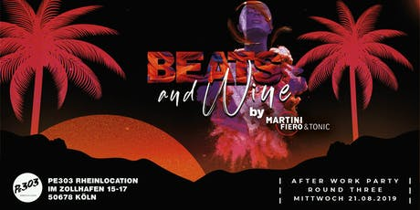 Beats & Wine by Martini Fiero & Tonic – Afterwork Party Tickets