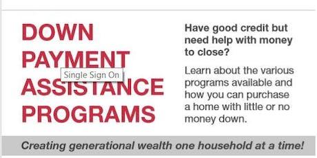 Down Payment Assistance Class / OPEN HOUSE tickets