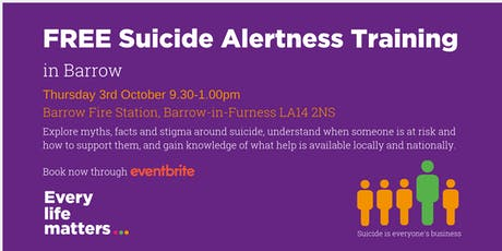 FREE Suicide Alertness Training - Barrow tickets