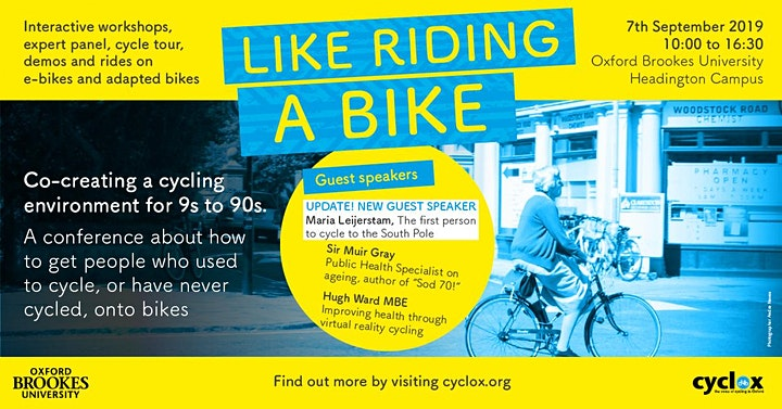 Like Riding a Bike: Co-creating a cycling environment for 9s to 90s. image