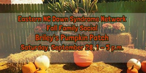 ENC Down Syndrome Network Fall Family Social