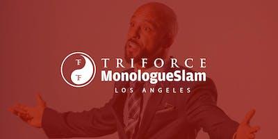 MonologueSlam LA Auditions Saturday 01 September 2019