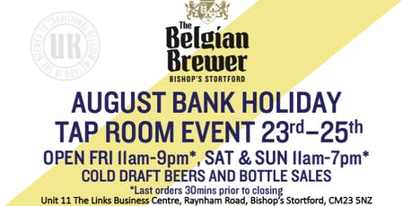 The Belgian Brewer - Tap Room - Bishop's Stortford - 24th August tickets