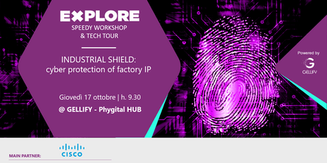 Speedy Workshop - Industrial Shield: cyber protection of factory IP tickets