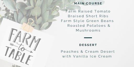 Nelson Produce Farm to Table Dinner