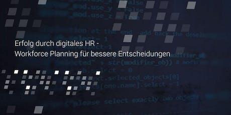 Digitale HR: Workforce Planning für bessere Entscheidungen (Webinar) Tickets