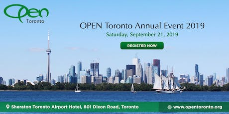 OPEN Toronto - Annual Event 2019 tickets