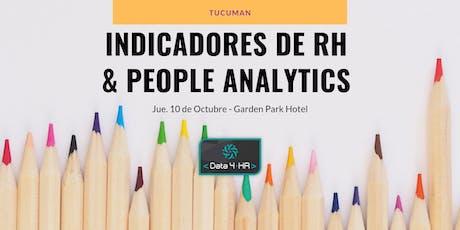 Curso Indicadores de RH y People Analytics - Tucumán entradas