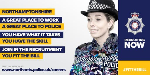 Northamptonshire Police Recruitment Evening