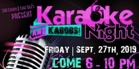 Karaoke & Kabobs Night tickets