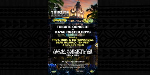 KA'AU CRATER BOYS - TRIBUTE CONCERT - TRIBUTE SERIES