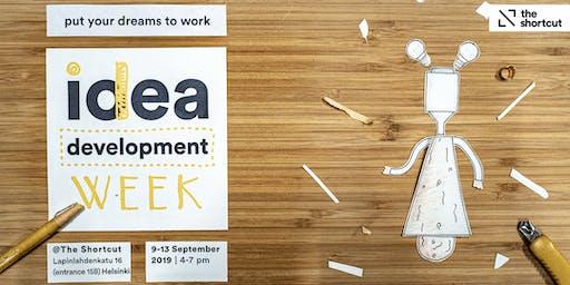 Idea Development Week