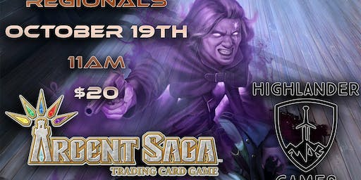 Argent Saga Regionals at Highlander Games