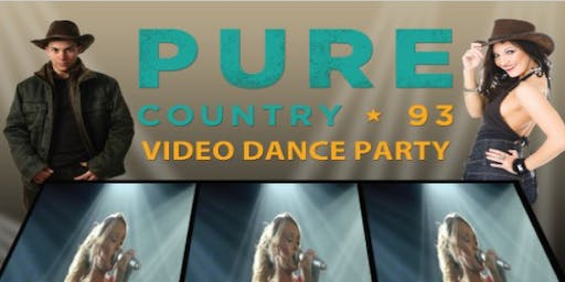 Pure Country 93 Video Dance Party