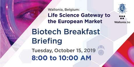 Biotech Breakfast Briefing - Wallonia Life Science Cluster tickets