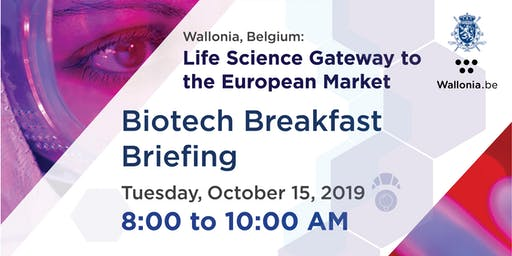 Biotech Breakfast Briefing - Wallonia Life Science Cluster