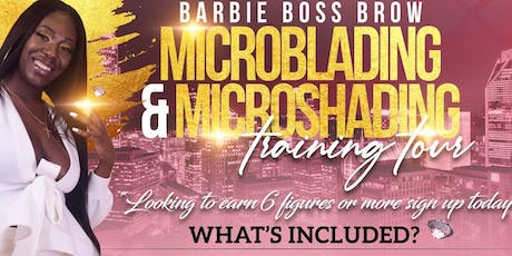 2 in 1 Microblading & Microshading Training Course  tickets