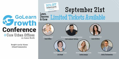 GoLearn: Growth Conference | Personal & Business Development Workshop Day tickets