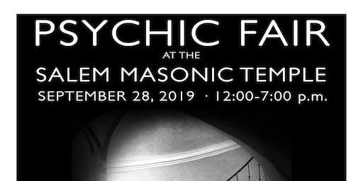 Psychic Fair at the Salem Masonic Temple