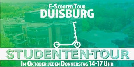 E-Scooter Studenten-Tour Duisburg Tickets