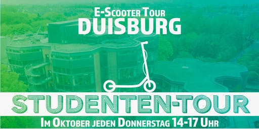 E-Scooter Studenten-Tour Duisburg