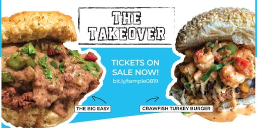 The Takeover Burger Pop-Up