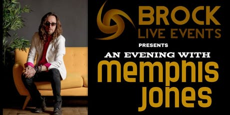 An Evening with Memphis Jones tickets