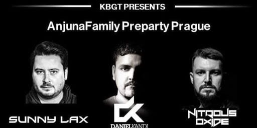 Anjunafamily Preparty Prague