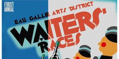 Eau Gallie Arts District Waiter Races