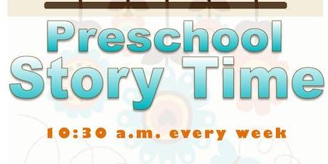 Preschool Story Time @ Haynes Library tickets